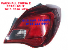VAUXHALL CORSA  E   REAR LIGHT DRIVER SIDE  O/S       2015  2016  ( 5 DOOR MODEL ONLY )        NEW  NEW (2)